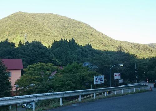 鉛温泉 大森山